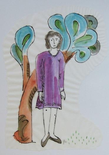Femmes - 2013 - Canopée - Peintures - Bleu - Violet