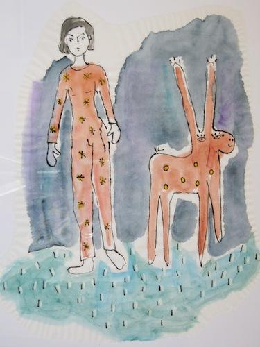 Femmes - 2013 - Cirque - Jeux - Peinture - Animal - Animaux