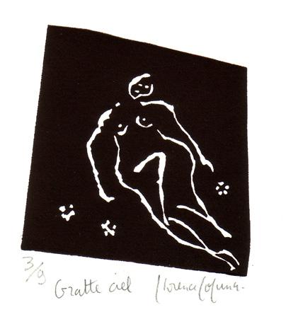 Linogravures - Gratte ciel