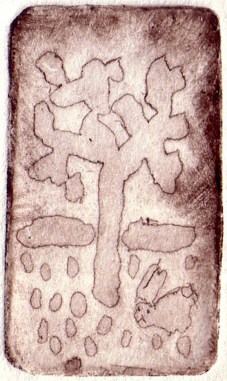 Taille douce - Arbres - Flores - Natures - Animal - Animaux - Gravures - Tailles douces