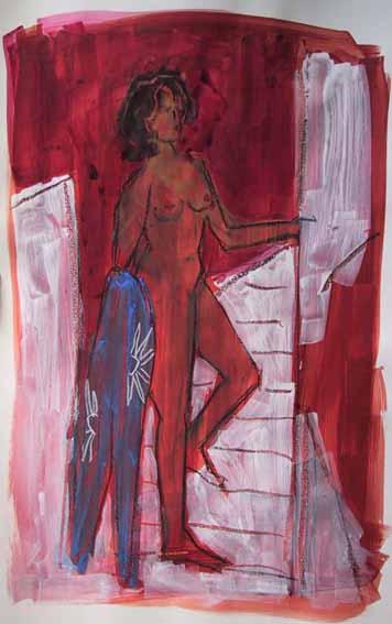 Athamante - Peintures - Aquarelles - Femmes - Nus - Nues