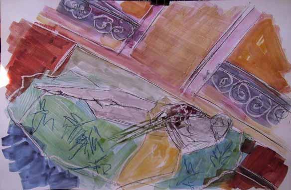 Azalée - Peintures - Aquarelles - Femmes - Nus - Nues