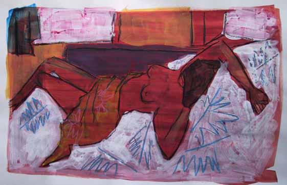 Bruyère - Peintures - Aquarelles - Femmes - Nus - Nues