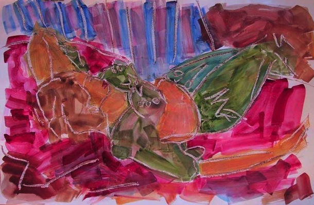 Calamenta - Peintures - Aquarelles - Femmes