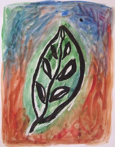 Aquarelles - Feuilles - Natures - Flores - Peintures