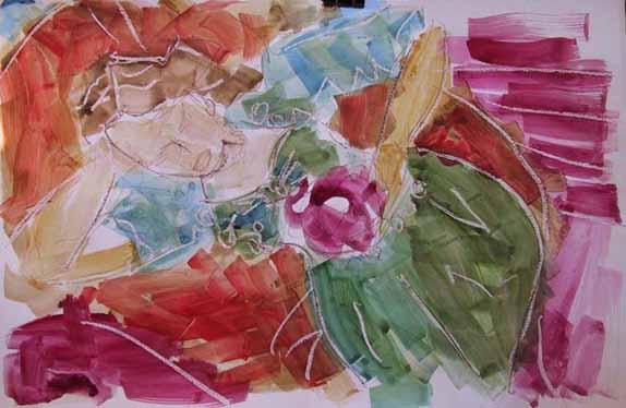 Melinet - Peintures - Aquarelles - Femmes