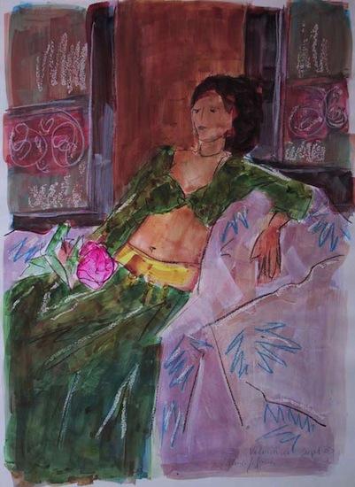 Valeriane - Peintures - Aquarelles - Femmes