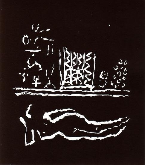 Linogravures - Nuit claire - Femmes - Nues - Nus
