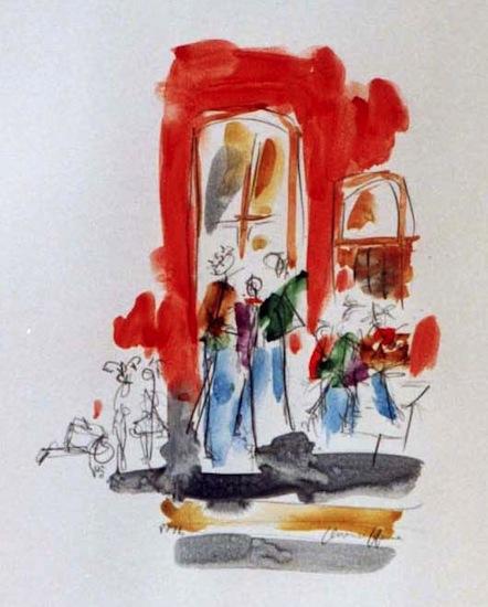 Roubaix - Aquarelles - Villes - Séries - Encre de Chine - Peintures
