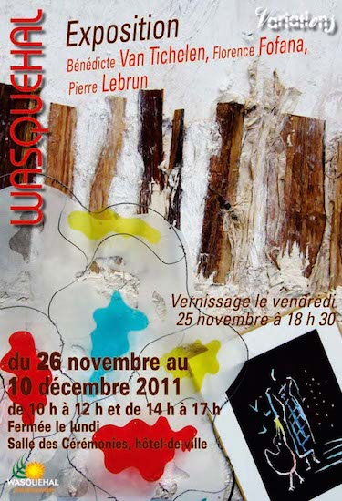 Exposition Wasquehal Novembre 2011, Peintures, dessins, gravures