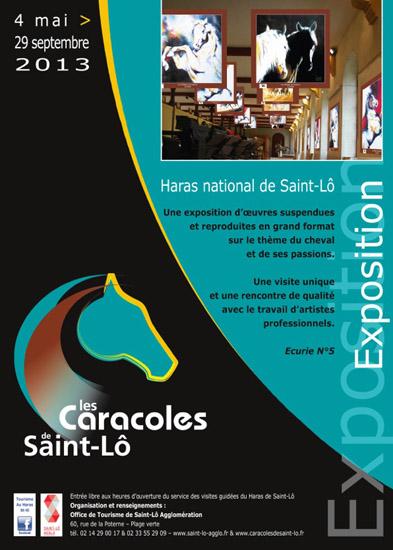 Exposition Caracoles de Saint-Lô, 2013, haras national, cheval, chevaux