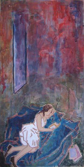 Femmes - Peintures - Lectrices - Virginie V