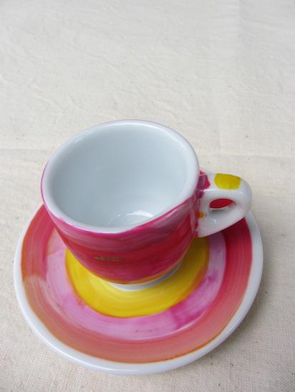 La tasse et sa sous-tasses