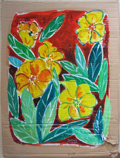 Les fleurs - Jaune - végétaux
