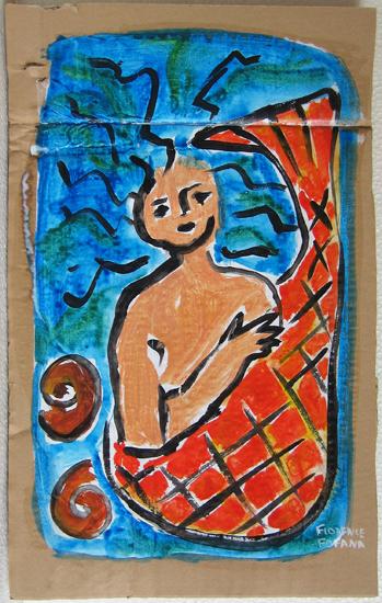 Sirene - Peinture - Creature de la mer