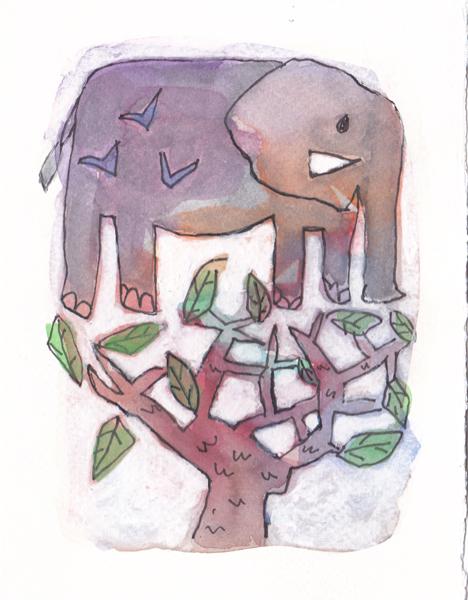 Ambiance Jardin - Elephant - Chaumont sur loire