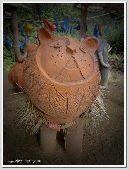 Modelage - Céramique - Animal - Animaux - Lion - Terre cuite