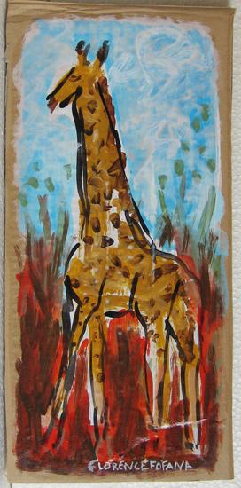 Girafes - animal animaux