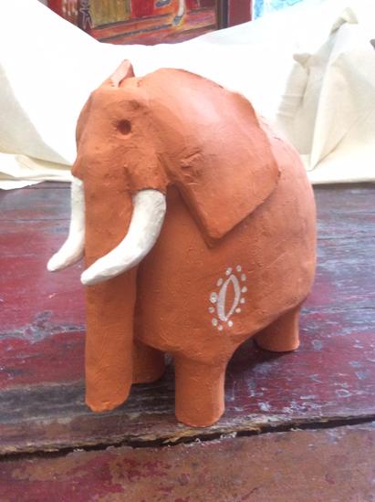 Modelage - Céramique - Animal - Animaux - Elephant - Terre cuite