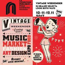 Au Market du Vintage Weekender à la Condition Publique à Roubaix